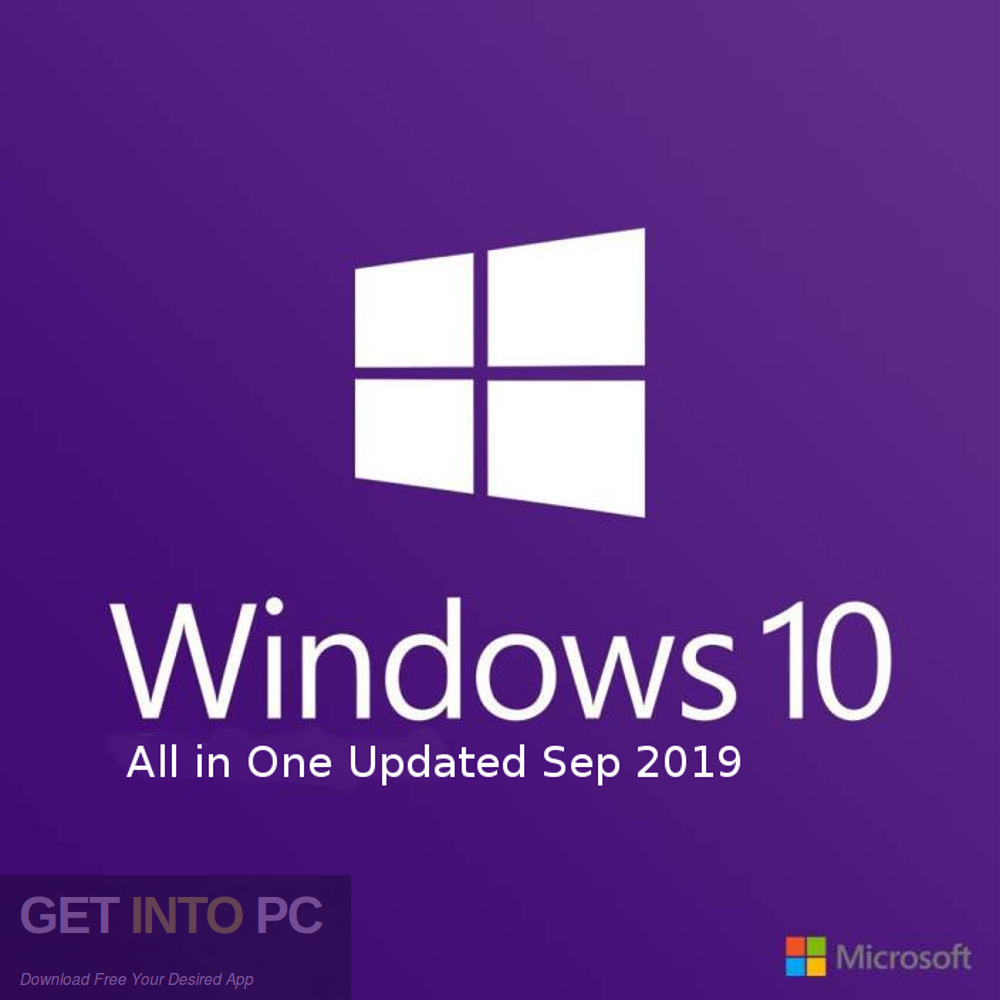 Windows 10 Pro x64 Updated Sep 2019 Free Download-GetintoPC.com