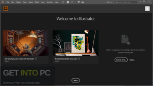 Abode Illustrator CC 2020 Free Download-GetintoPC.com