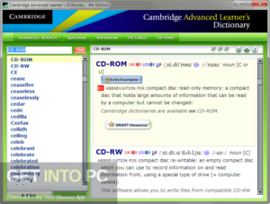 Cambridge Advanced Learner's Dictionary Fourth edition 2013 Free Download-GetintoPC.com