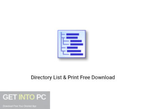 Directory List & Print Latest Version Download-GetintoPC.com
