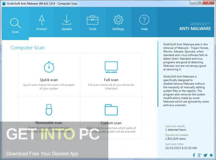 GridinSoft Anti-Malware 2020 Offline Installer Download