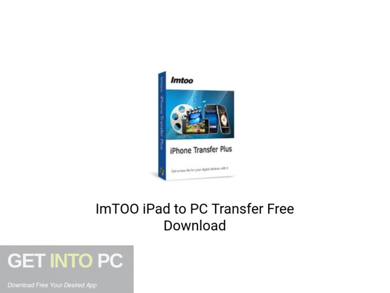 [PCソフト] ImTOO iPad to PC Transfer