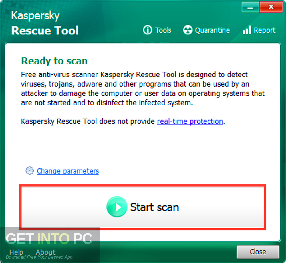 Kaspersky Rescue Disk 2019 Offline Installer Download-GetintoPC.com