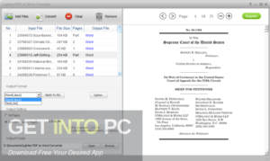 Lighten PDF to Word Converter Direct Link Download-GetintoPC.com