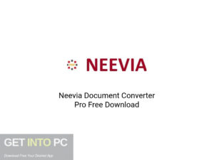 Neevia Document Converter Pro Latest Version Download-GetintoPC.com