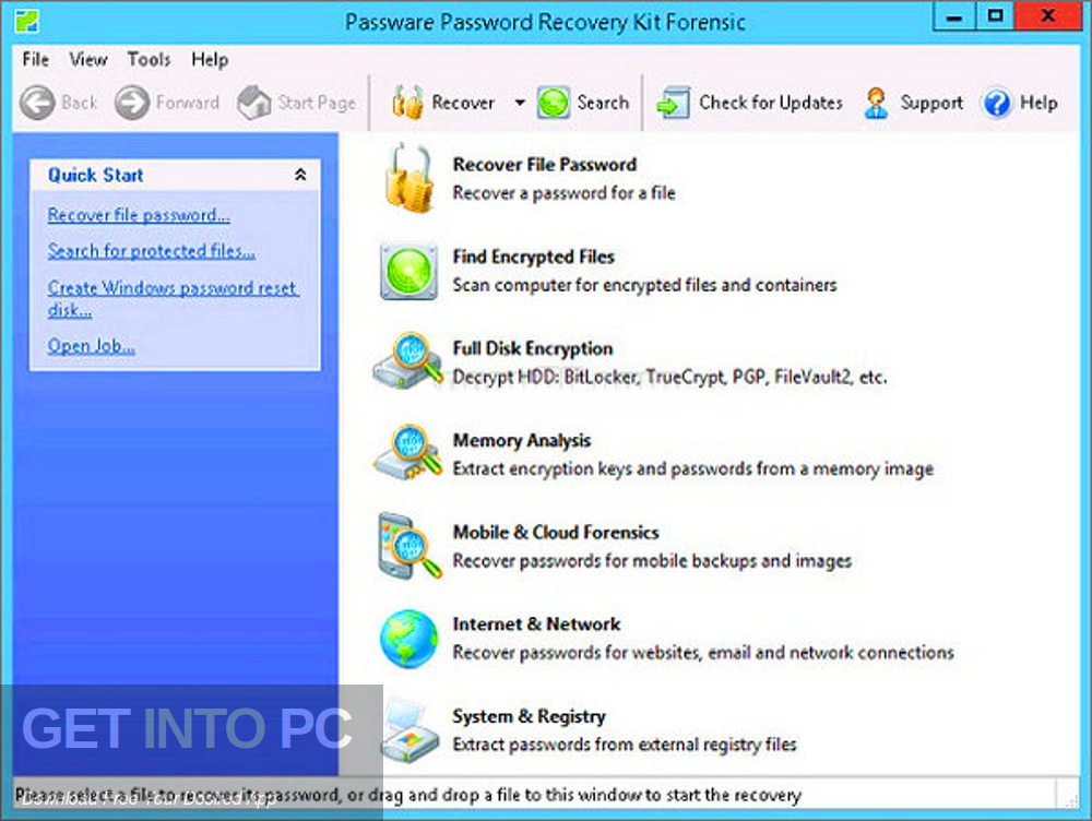 Passware Kit Forensic 2017 Direct Link Download-GetintoPC.com