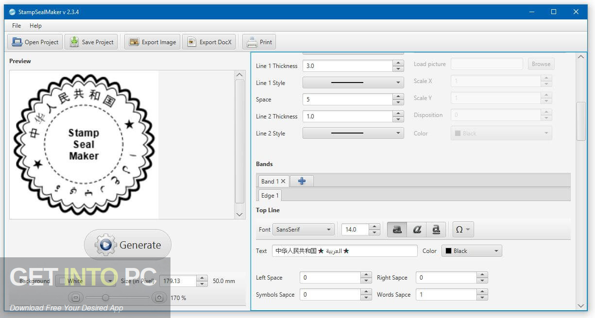 Stamp Seal Maker Latest Version Download-GetintoPC.com