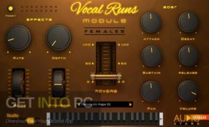 StudioLinkedVST Vocal Runs Module VSTi Direct Link Download-GetintoPC.com
