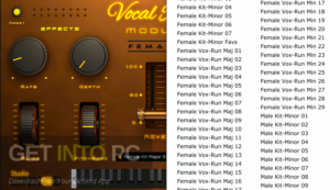StudioLinkedVST Vocal Runs Module VSTi Offline Installer Download-GetintoPC.com