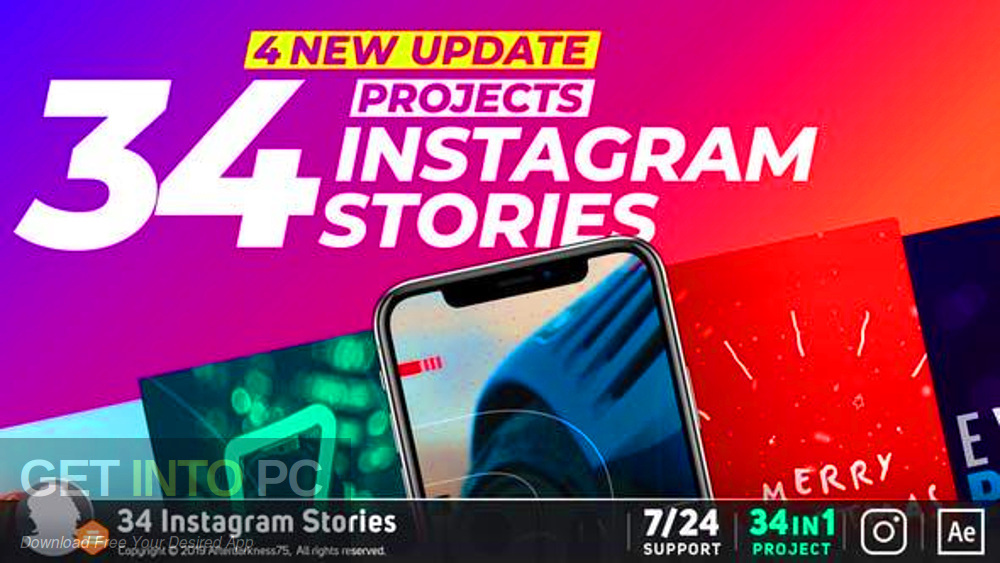VideoHive - Instagram Stories Free Download-GetintoPC.com