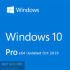 Windows 10 Pro x64 Updated Oct 2019 Free Download-GetintoPC.com