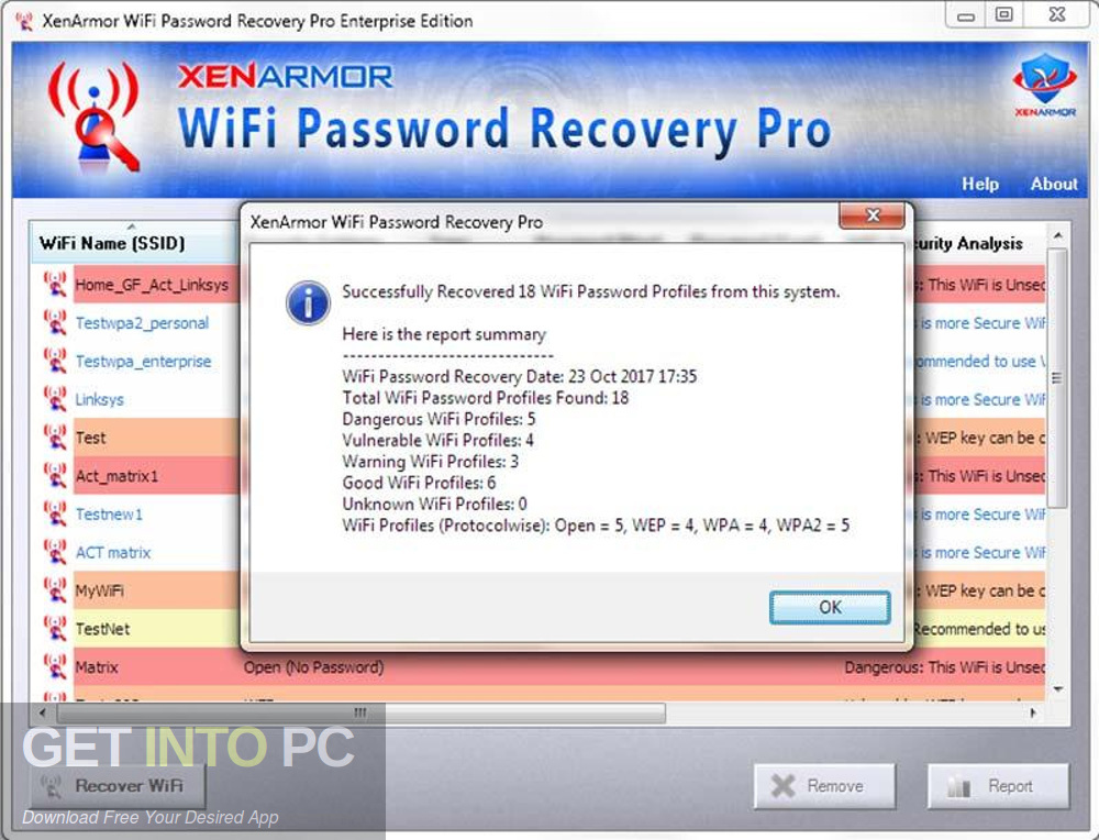 XenArmor WiFi Password Recovery Pro Enterprise 2018 Offline Installer Download-GetintoPC.com