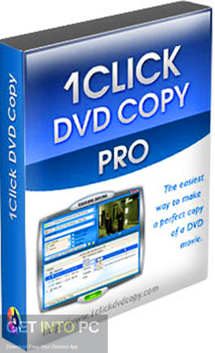 1CLICK DVD Copy Pro Free Download-GetintoPC.com