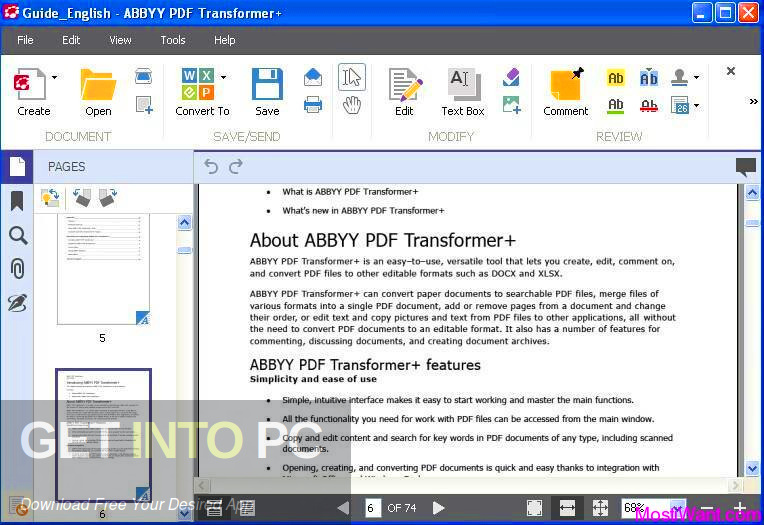 ABBYY PDF Transformer Direct Link Download-GetintoPC.com