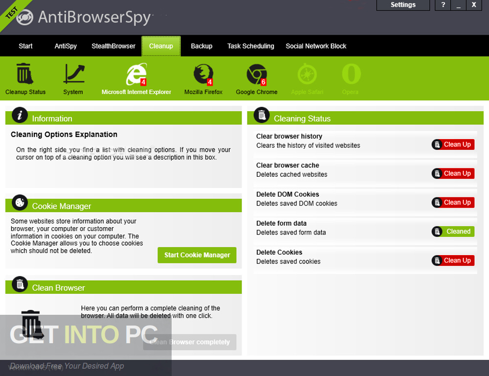 Abelssoft AntiBrowserSpy 2019 Direct Link Download-GetintoPC.com