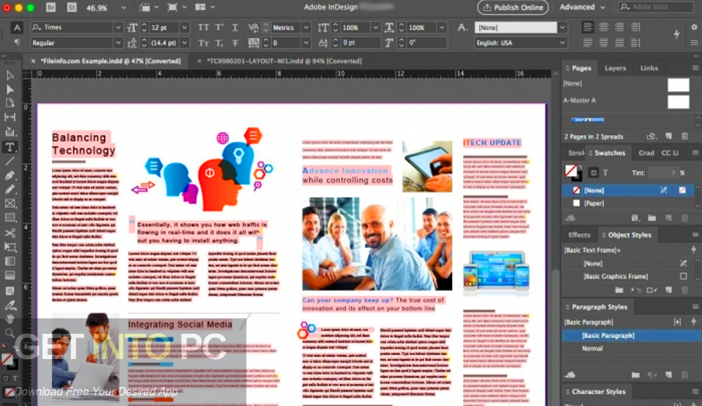 Adobe InDesign 2021 Direct Link Download
