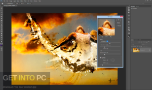 Adobe Photoshop Photoshop CC 2014 + Plugins (Topaz Benvista Flaming) Offline Installer Download-GetintoPC.com