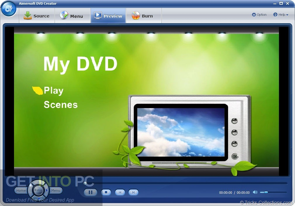 Aimersoft DVD Creator Offline Installer Download-GetintoPC.com