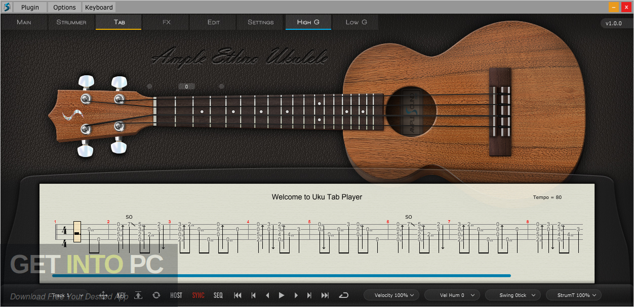 Ample Sound - Ample Ethno Ukulele III Direct Link Download-GetintoPC.com