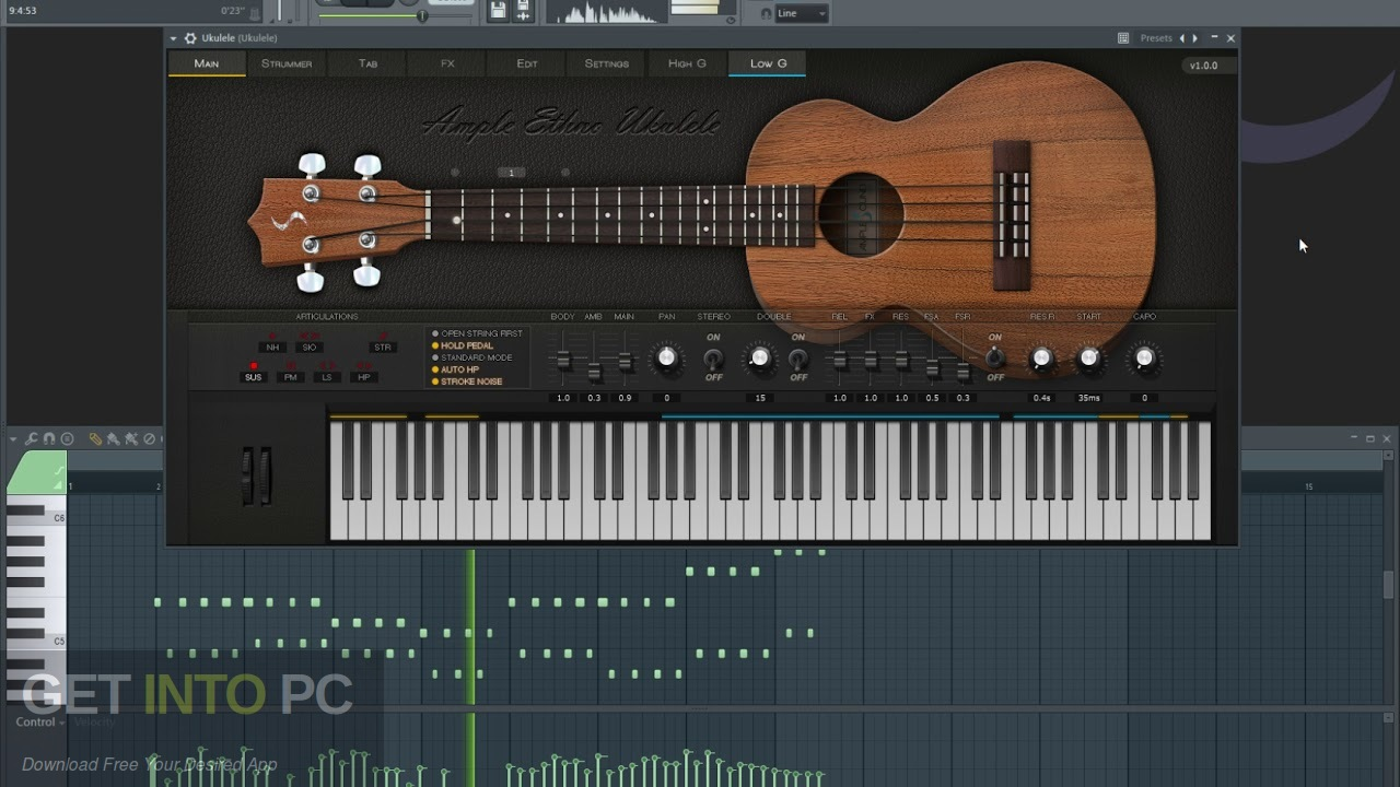 Ample Sound - Ample Ethno Ukulele III Latest Version Download-GetintoPC.com