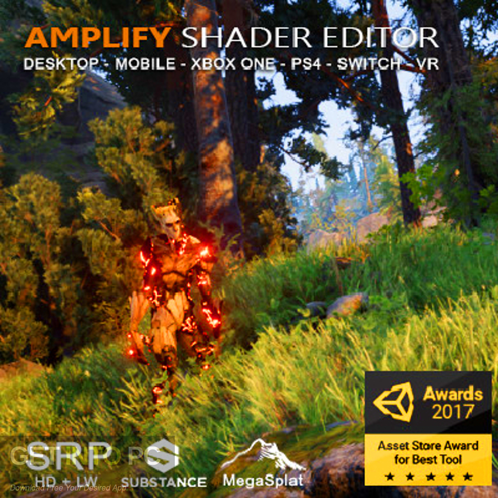 Amplify Shader Editor Free Download-GetintoPC.com
