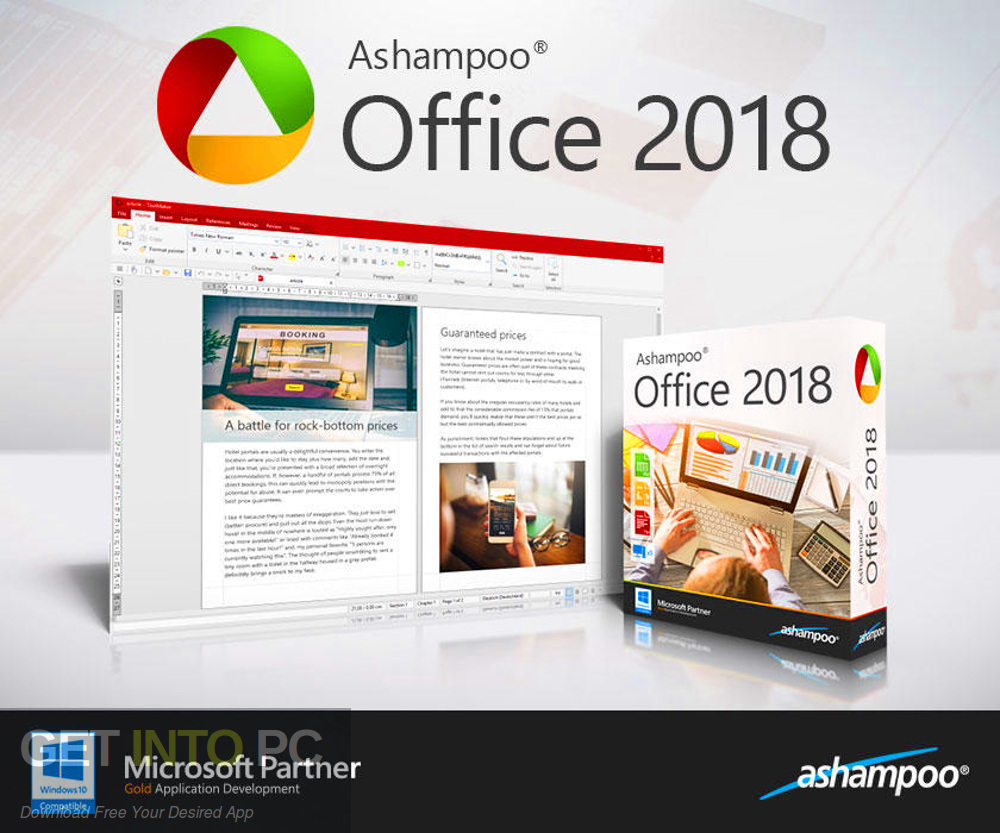 Ashampoo Office 2018 Free Download-GetintoPC.com
