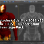 Autodesk 3ds Max 2012 x86 x64 + SP2 + Subscription Advantage Pack Download