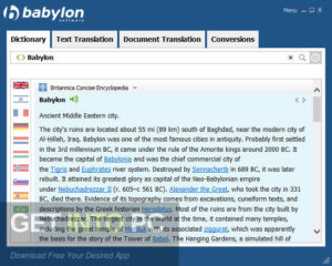Babylon NG Free Download-GetintoPC.com