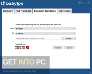 Babylon NG Offline Installer Download-GetintoPC.com