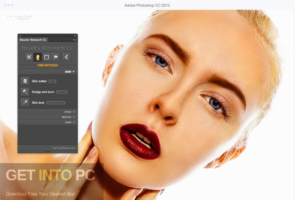 Beauty Retouch for Photoshop Latest Version Download-GetintoPC.com