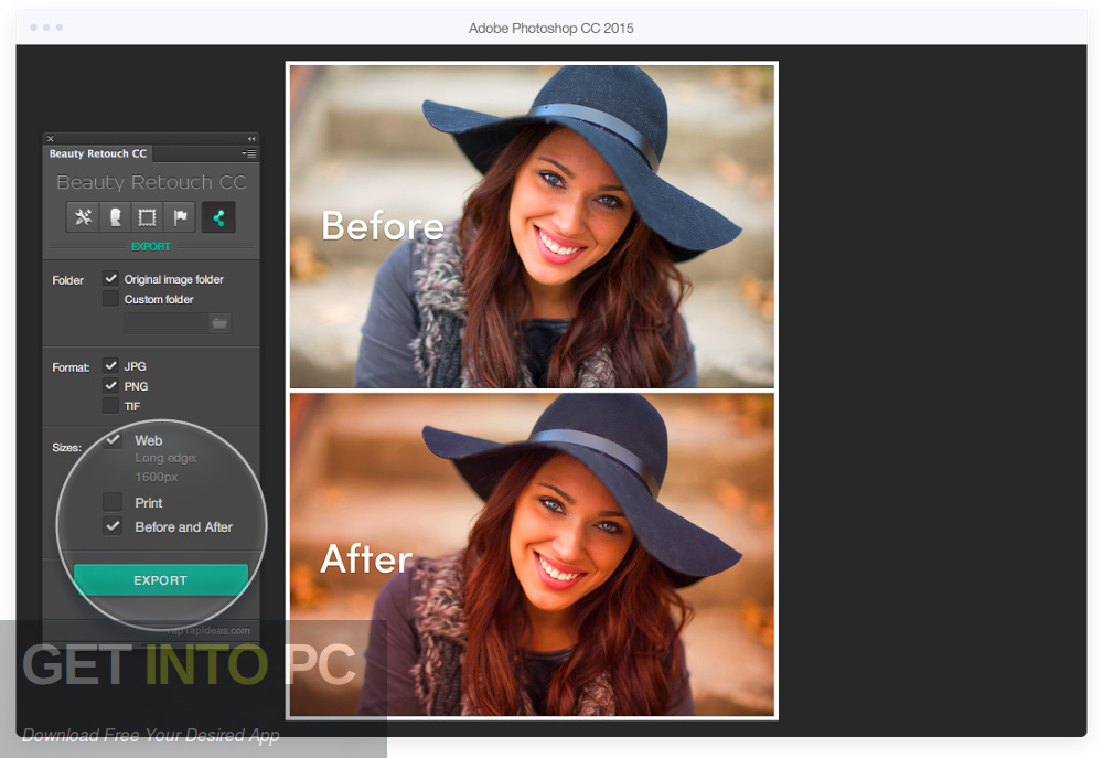 Beauty Retouch for Photoshop Offline Installer Download-GetintoPC.com
