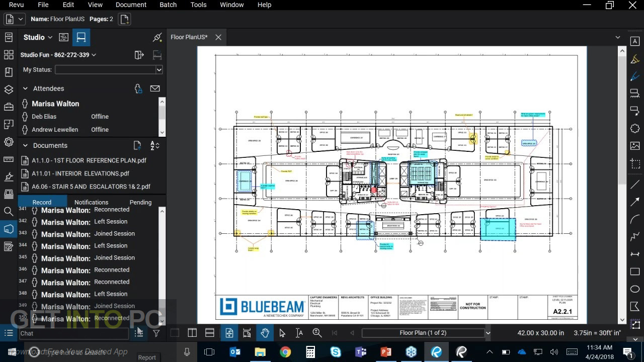 Bluebeam Revu eXtreme 2019 Offline Installer Download-GetintoPC.com