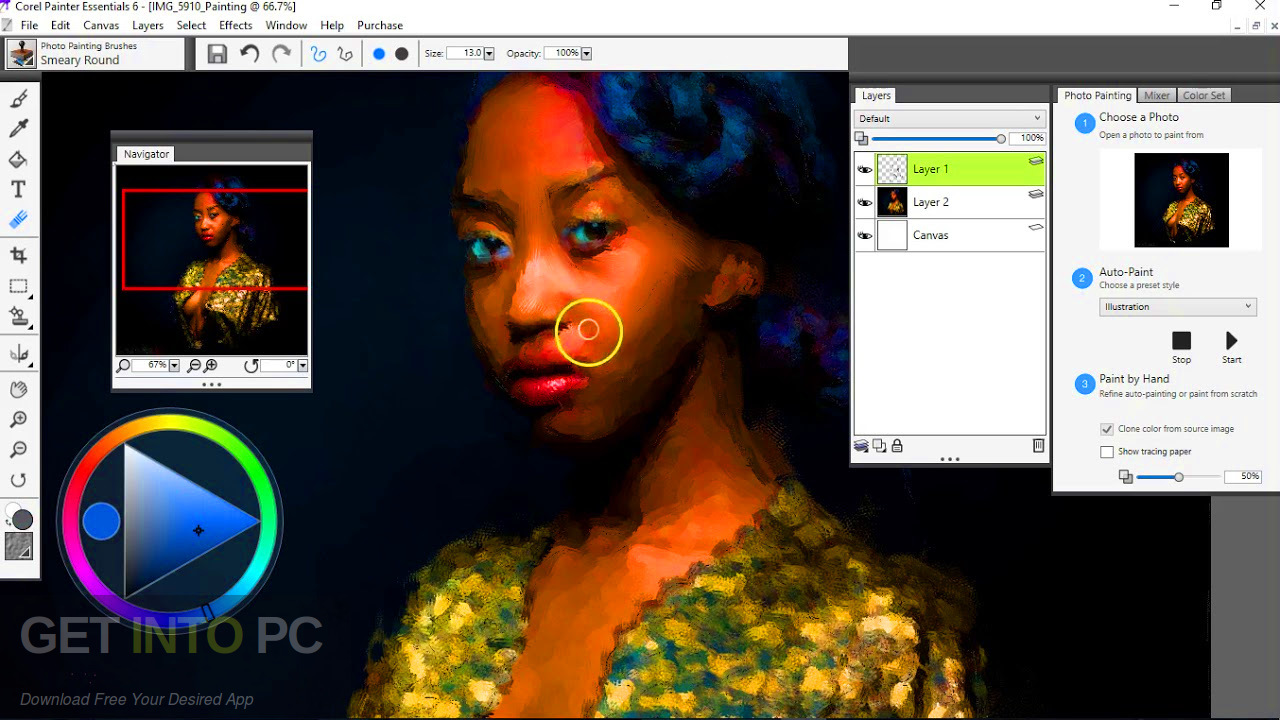 Corel Painter Essentials 7 Latest Version Download-GetintoPC.com