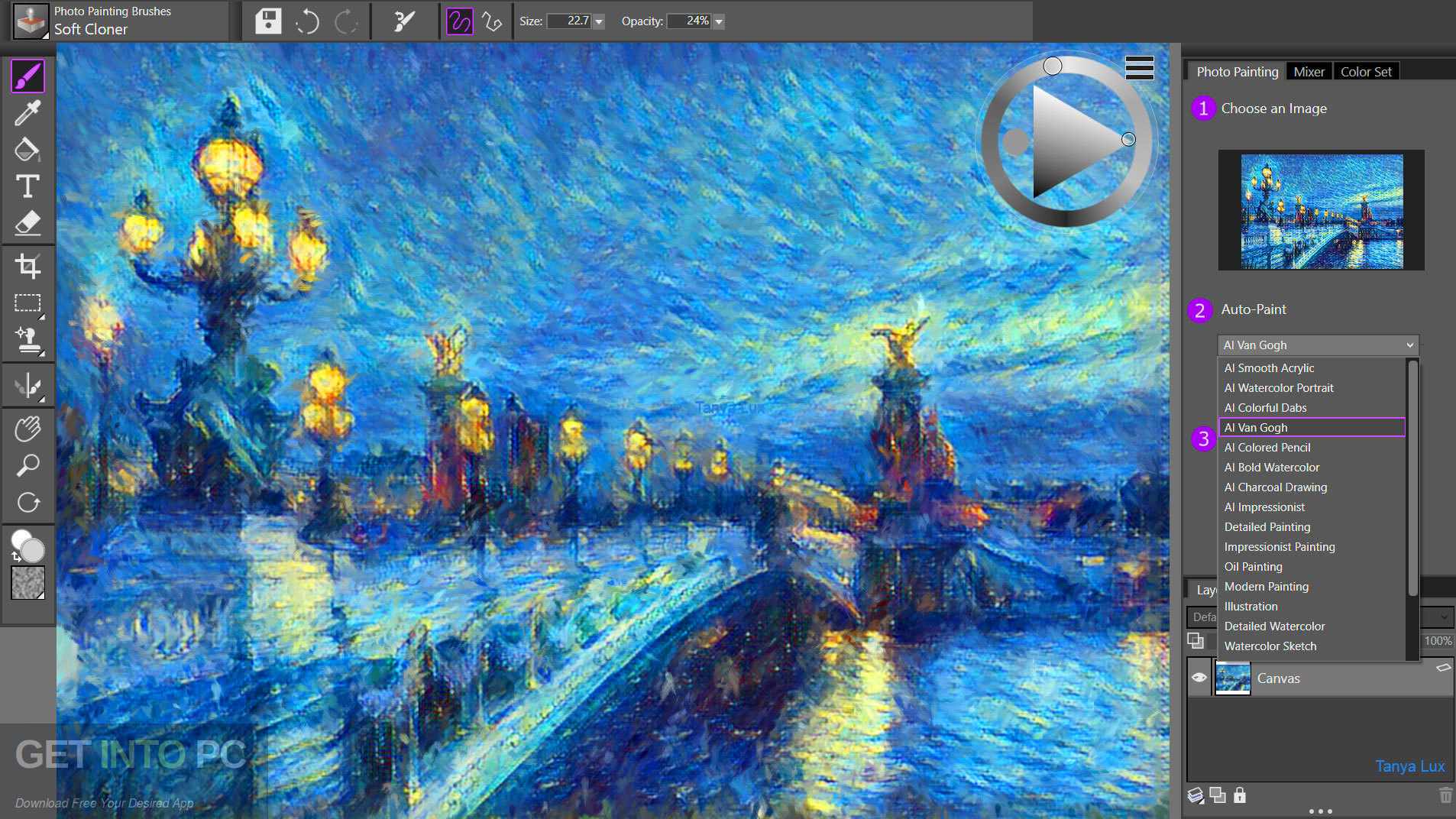 Corel Painter Essentials 7 Offline Installer Download-GetintoPC.com