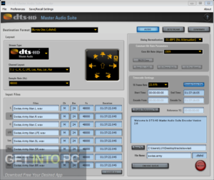 DTS HD Master Audio Suite Encoder Free Download-GetintoPC.com