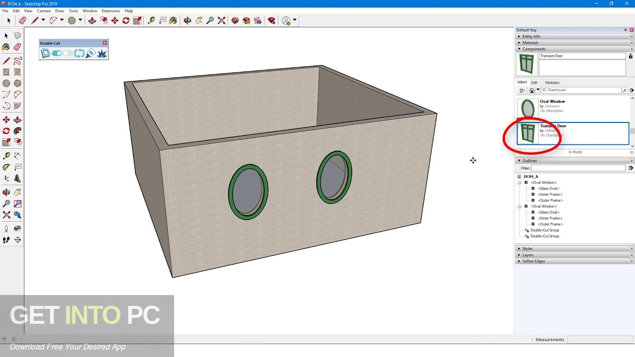 Double-Cut for Sketchup 2019 Direct Link Download-GetintoPC.com