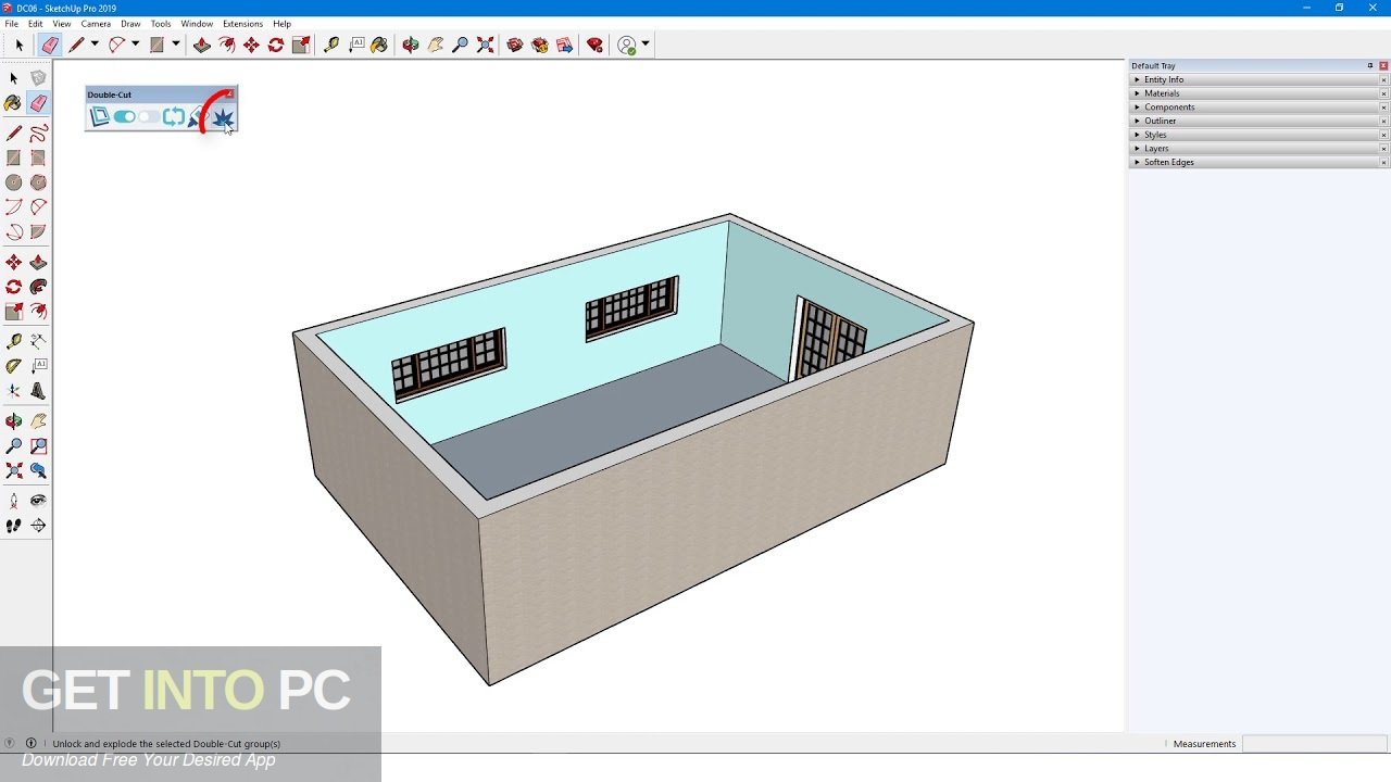 Double-Cut for Sketchup 2019 Latest Version Download-GetintoPC.com
