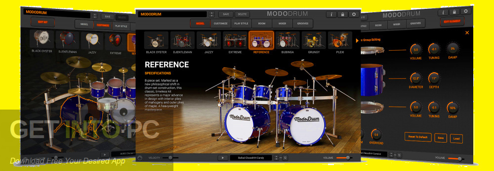 IK Multimedia - MODO DRUM VST Direct Link Download-GetintoPC.com