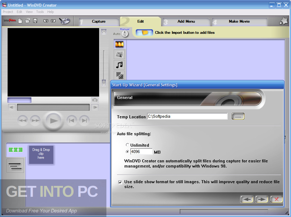InterVideo WinDVD Creator 2 Direct Link Download-GetintoPC.com