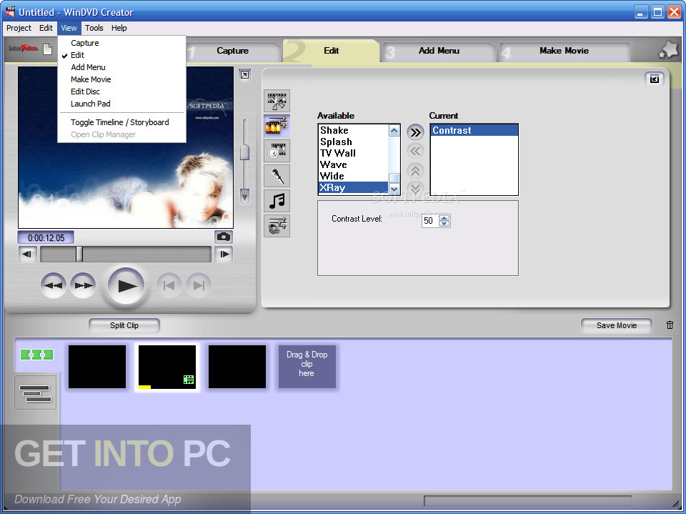 InterVideo WinDVD Creator 2 Latest Version Download-GetintoPC.com