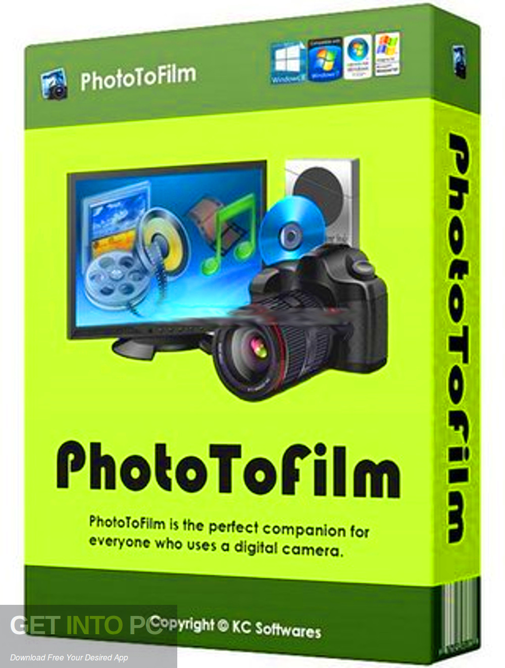 KC Softwares PhotoToFilm Free Download-GetintoPC.com