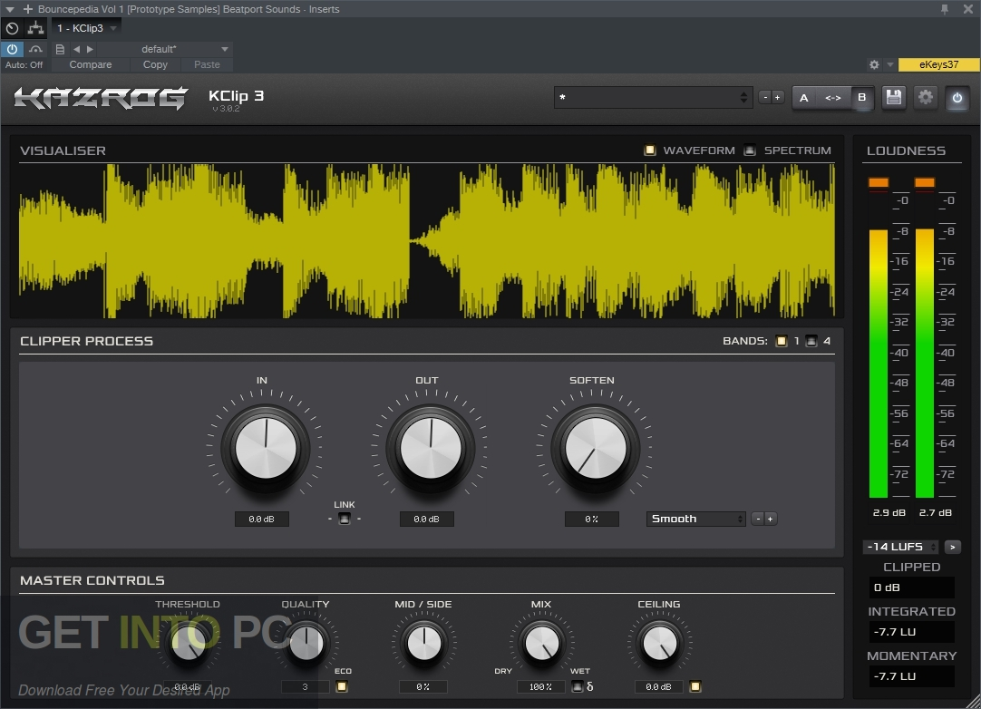 Kazrog - KClip VST Direct Link Download-GetintoPC.com