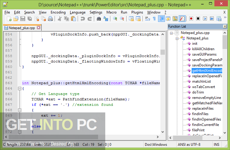 Notepad ++ 2020 Direct Link Download