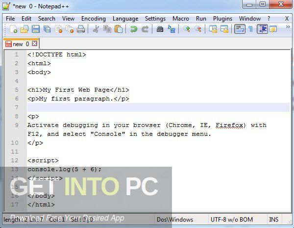 Notepad ++ 2020 Latest Version Download