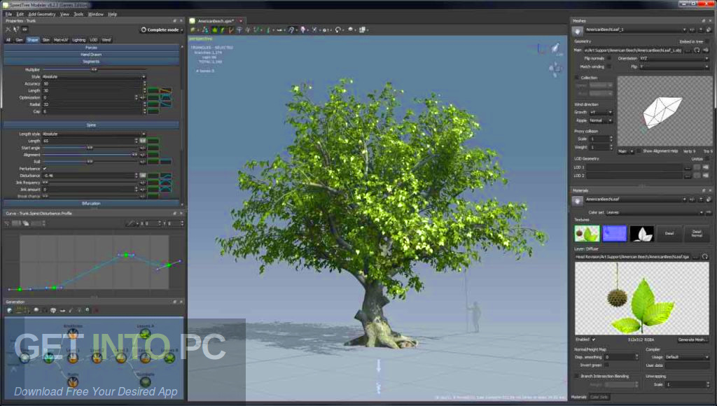 SpeedTree Cinema 8.1.5 Latest Version Download-GetintoPC.com