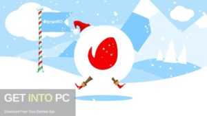VideoHive Christmas Logo Opener 1 Snowball Direct Link Download-GetintoPC.com