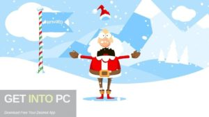 VideoHive Christmas Logo Opener 1 Snowball Free Download-GetintoPC.com