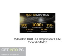 VideoHive HUD - UI Graphics For FILM, TV and GAMES Latest Version Download-GetintoPC.com