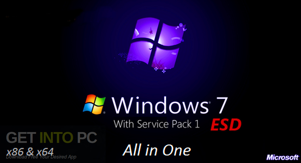 Windows 7 x86 x64 AIO 22in1 Updated Nov 2019 Free Download-GetintoPC.com