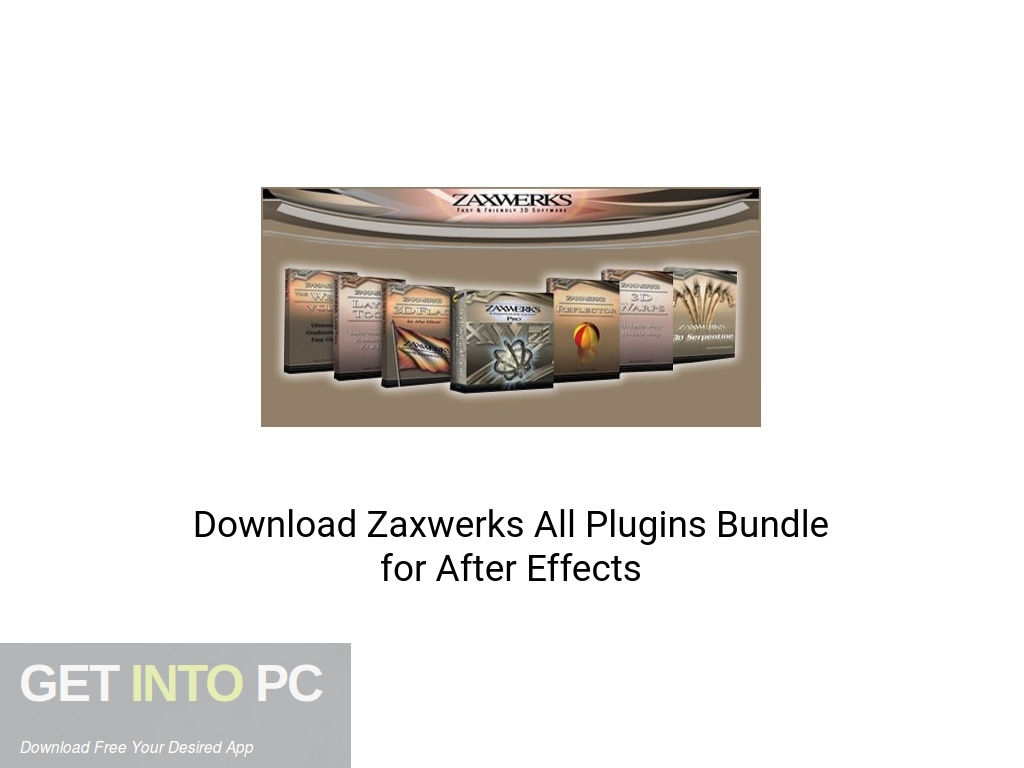 Download Zaxwerks All Plugins Bundle for After Effects